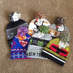 Children's Winter Caps-Multiple Designs Available